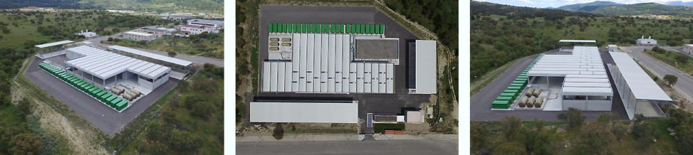 Impianto di compostaggio - Vedute